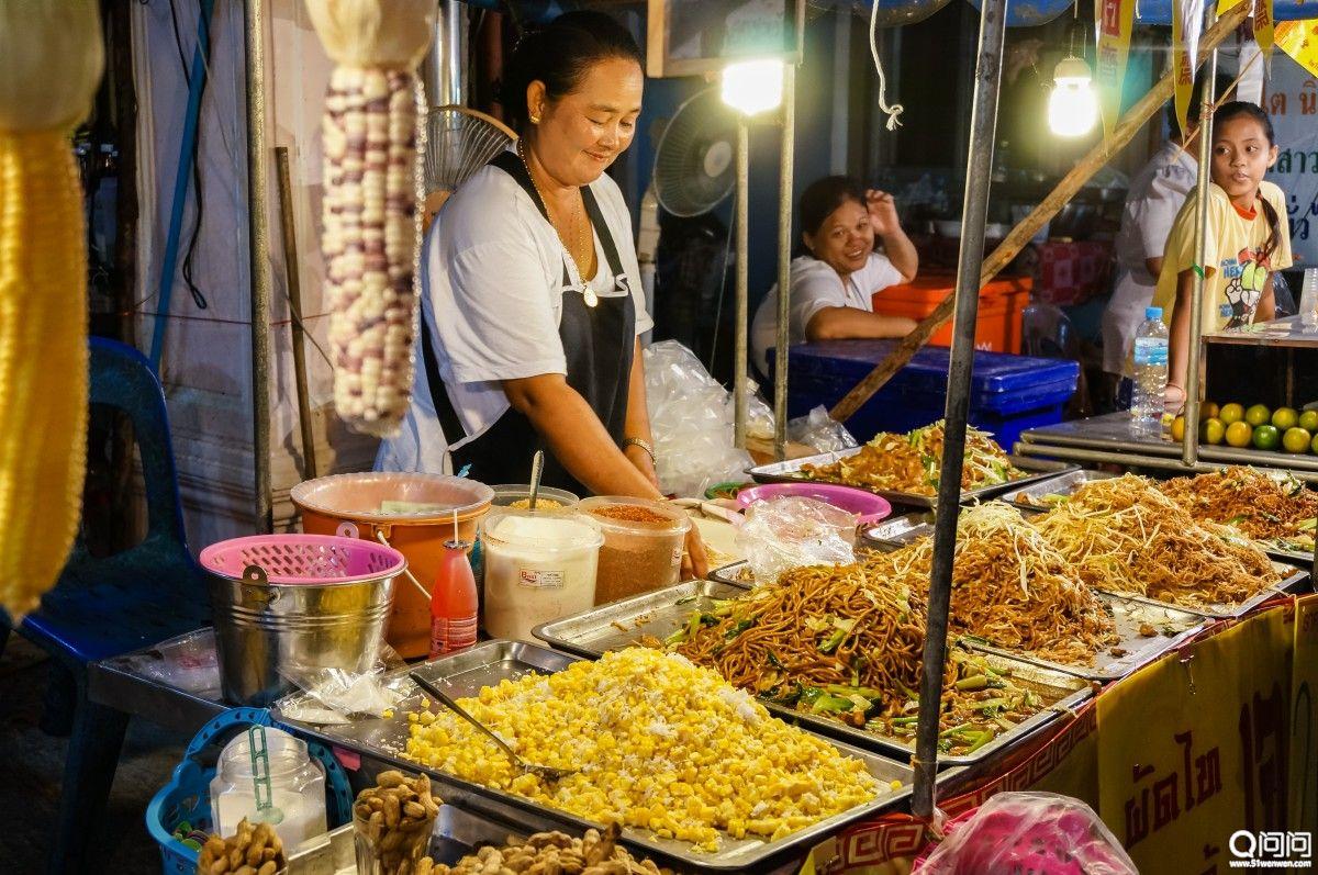 泰国普吉岛的生活