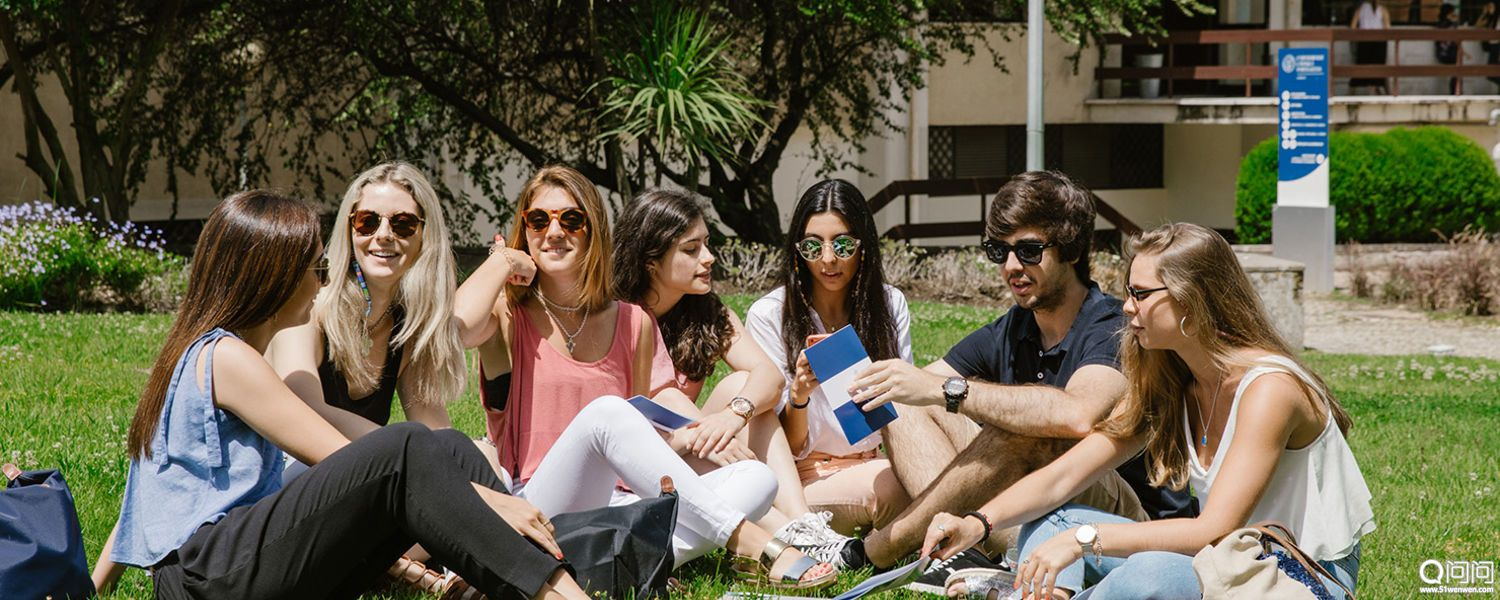Students Studying in Lisbon