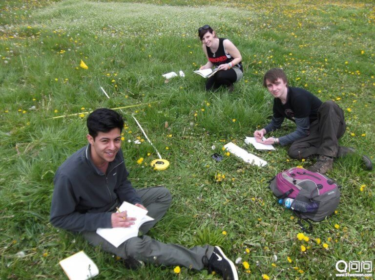 基尔大学环境科学的学生